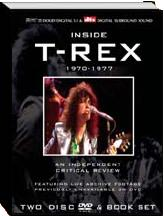 Cover der neuen DVD-Box INSIDE T-REX 1970 - 77 - An Independent Critical Review